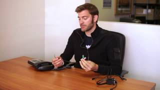 How to Connect PC Headset to Office Telephone Using Headset Buddy