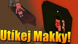 We RUN the POPPY BEFORE the KILLER WATER! 😱😂 Roblox Flood Escape 2 w/Makousek