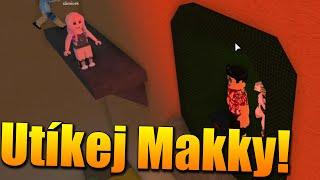 Wir RUN die POPPY VOR dem KILLER WASSER! 😱😂 Roblox Flood Escape 2 w/Makousek