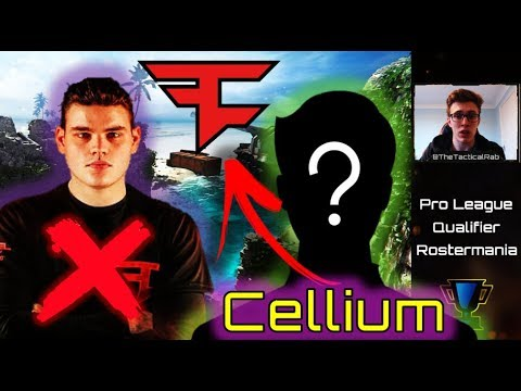 CELLIUM to FaZe!? | Rostermania Rumors Pre- CWL Pro League | CoD BO4 Roster Changes Competitive
