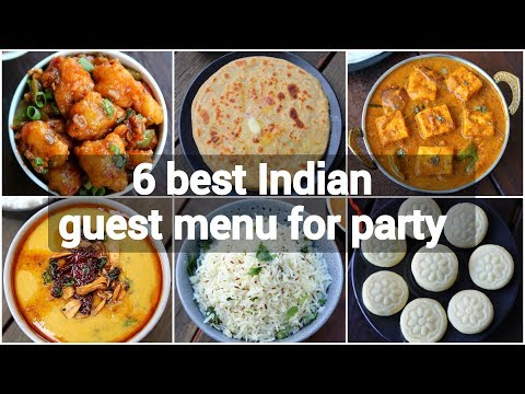Indian Dinner Party Menu At Home | Indian Dinner Party Recipes | Guest Menu Ideas Indian