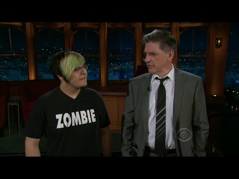 Late Late Show with Craig Ferguson 1/17/2011 Rashida Jones, Tony Goldwyn