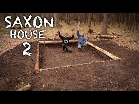 Building a Saxon House with Hand Tools: THE PIT | Bushcraft Project (PART 2)