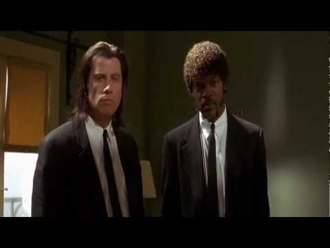 "Pulp Fiction - ""Divine Intervention"" scene"