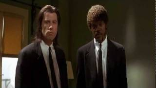 "Pulp Fiction - ""Divine Intervention"" scene"