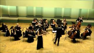 Henri Vieuxtemps Elegy for viola and chamber orchestra -Ugne Tiskute