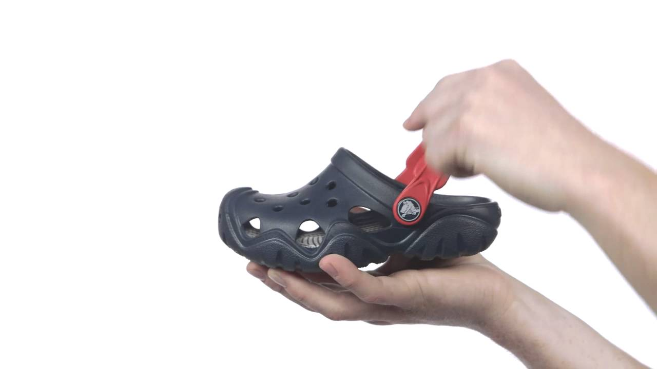 41934427cdd44 Kids Crocs™ Swiftwater Clogs - YouTube