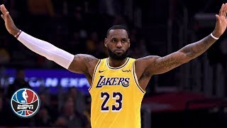 LeBron James' near triple-double in return drives Lakers to OT win vs. Clippers | NBA Highlights