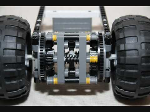 Lego Torsen Style Limited Slip Differential