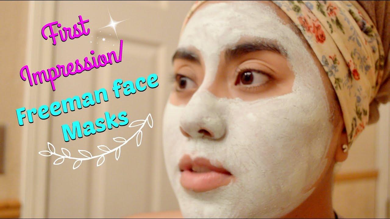 First Impression Reviewfreeman Face Masks Youtube Masker Wajah Freeman Revitalizing Pomegranate Original Po