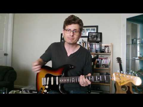 David Gilmour Guitar Mod
