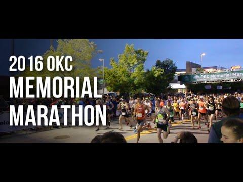 2016 Oklahoma City Memorial Marathon Start