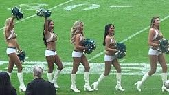 Roar of the Jaguars Cheerleaders Pre-Match Dance Routine (Wembley Stadium 2017)