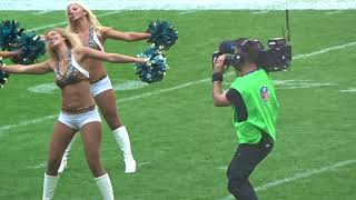 Roar of the Jaguars Cheerleaders Dance Routine (Wembley Stadium 2017)