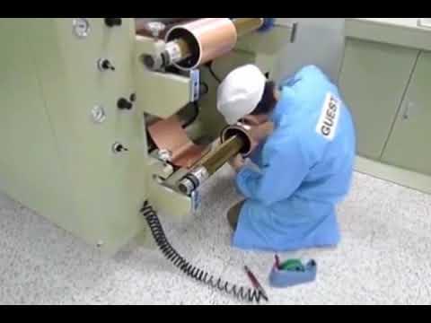 Fccl Special Copper Foil Slitting Machine Video Cive Metal Copper Foil