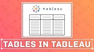 Build a table in Tableau: The steps needed to create a simple table in Tableau