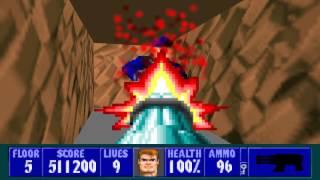 Wolfenstein 3D - Episode 4, Floor 5