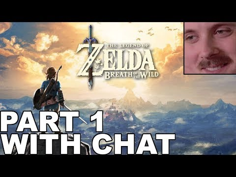 Forsen plays: The Legend of Zelda - Breath of the Wild | Part 1 (with chat)