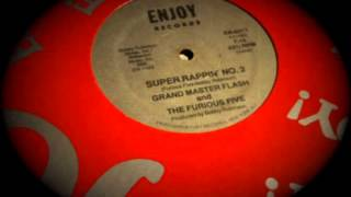 Grand Master Flash - Super Rappin