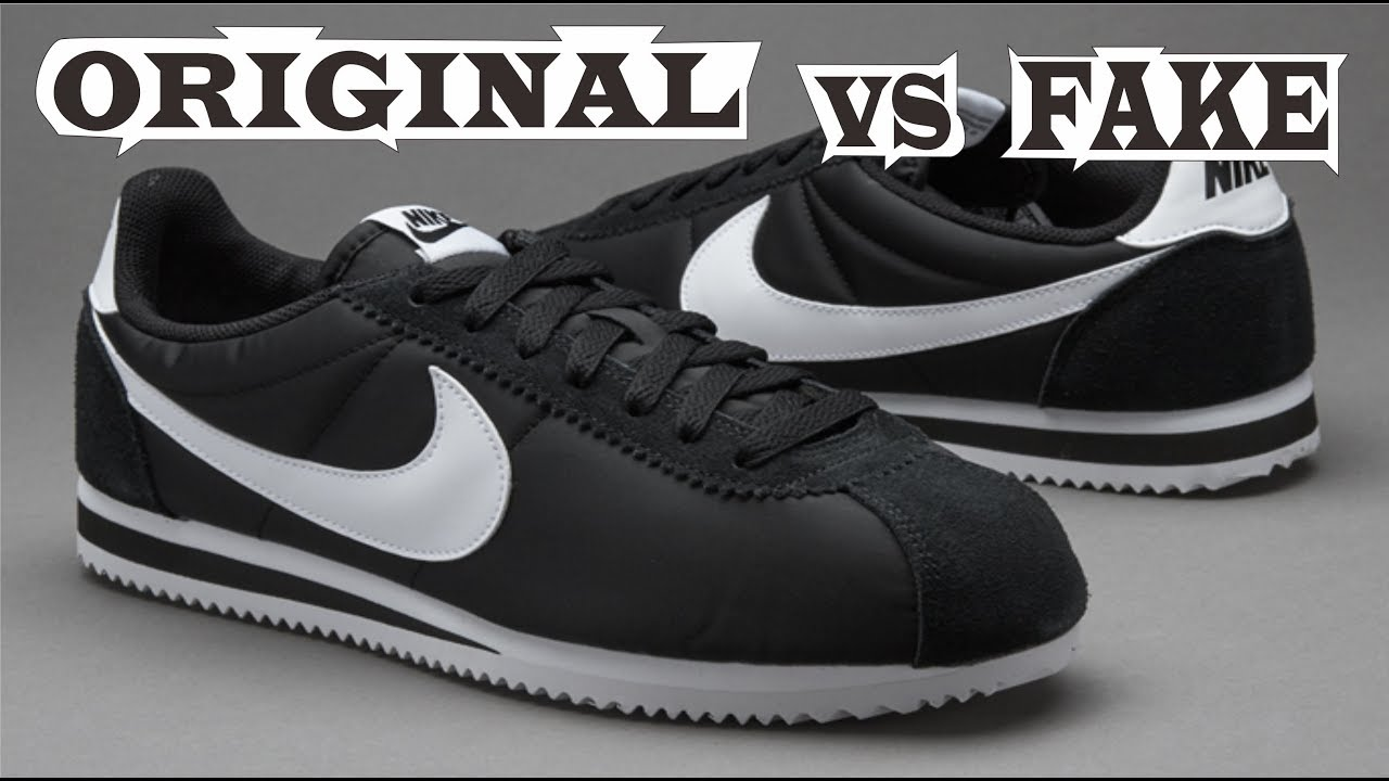 Nike Classic Cortez Nylon Original & Fake
