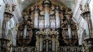 Leżajsk - XVII ct pipe organ - J S Bach, Toccata and Fugue in d minor, BWV 565