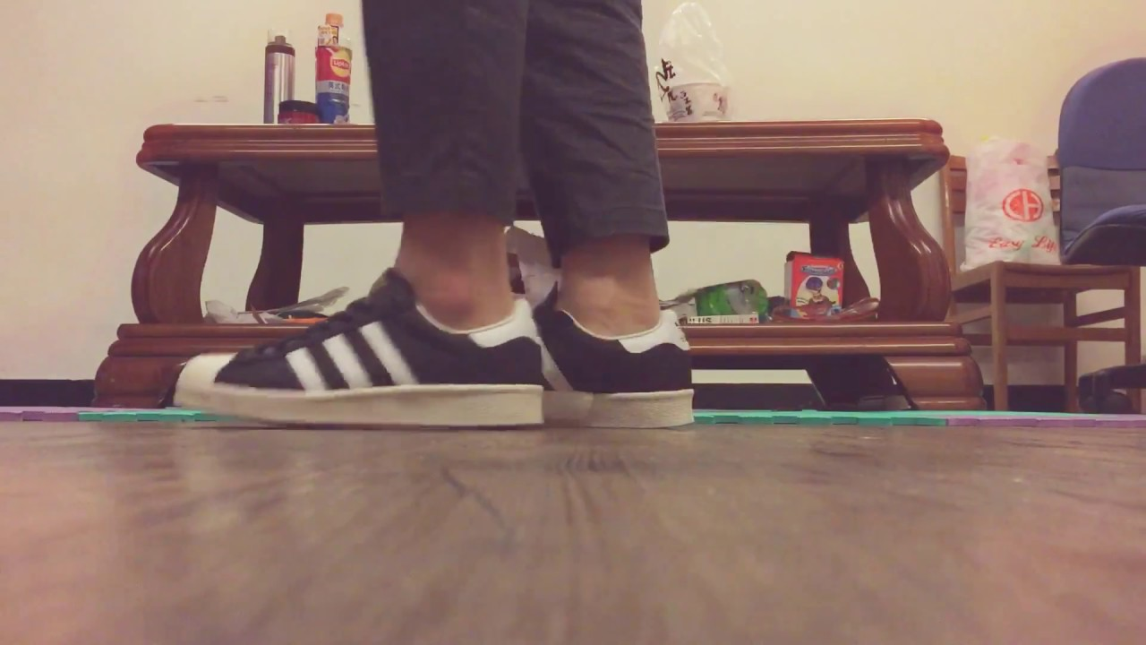 21510b3b7d953a adidas superstar boost (on feet)