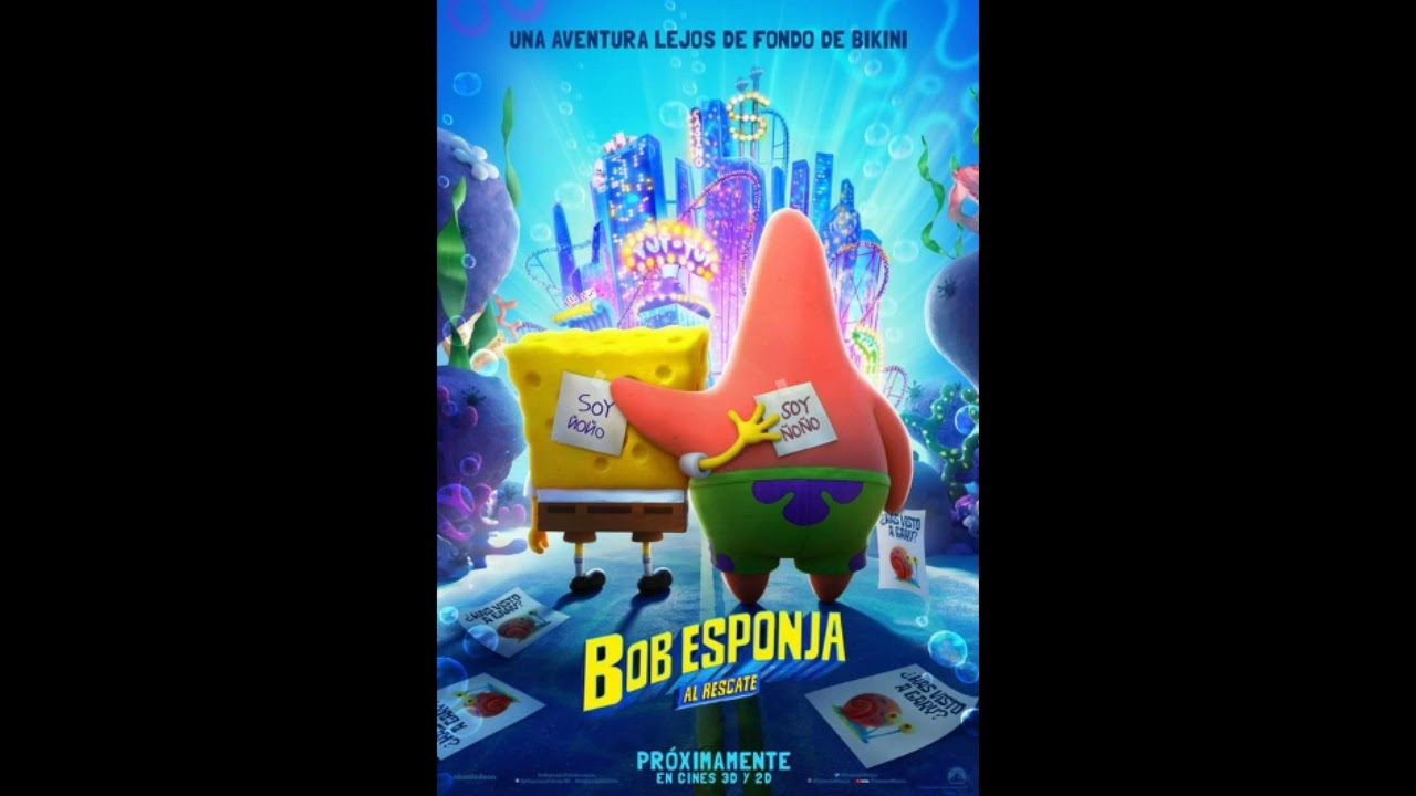 BOB ESPONJA: AL RESCATE - SOUNDTRACK TRAILER