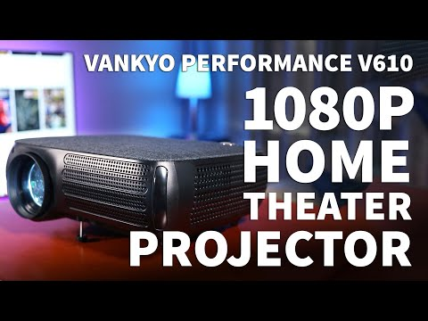 Vankyo Performance V610 Home Theatre Projector – Full 1080P Gaming Projector Setup For Media Room