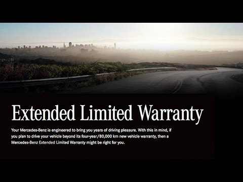 Mercedes-Benz Extended Warranty Program At Mercedes-Benz Downtown Calgary