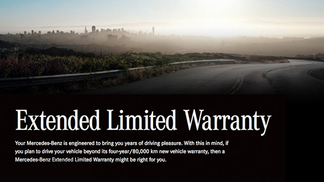 mercedes benz extended warranty program at mercedes benz
