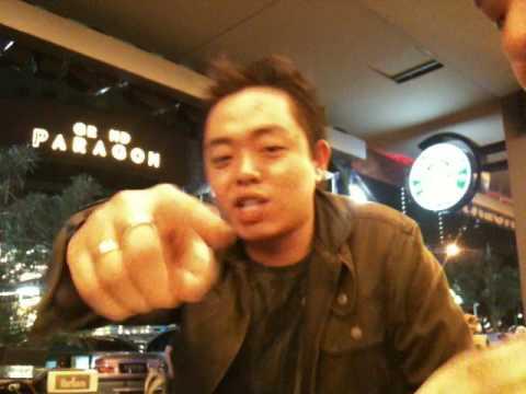 DJ RONNY INTERVIEW、JAKARTA,KOTA 2010