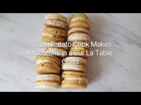 Making Macarons in a Sur La Table Class | CouchPotatoCook.com