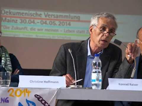 """""""Kein Blut für Rohstoffe! - Gerechter Frieden statt militärischer Gewalt"""" - Konrad Raiser (4/4)"""