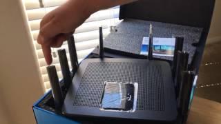Linksys EA9500 Max-Stream AC5400 MU-MIMO Gigabit WiFi Router 8-5-17