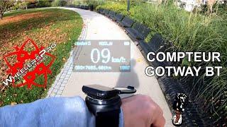 Compteur GotWay Bluetooth