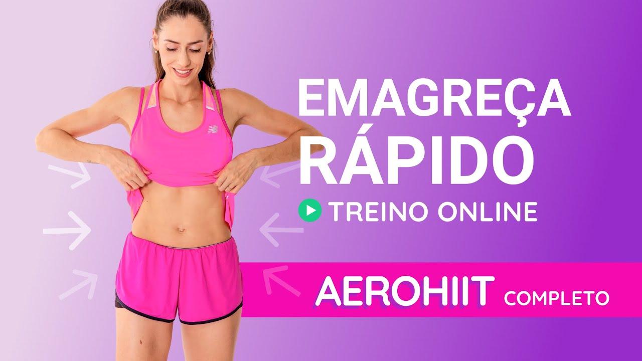 Melhor Treino Online PARA EMAGRECER - Aerohiit