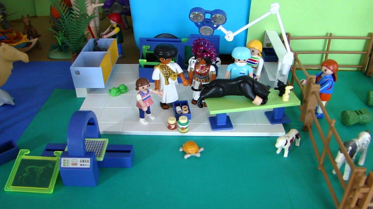 Playmobil notre d cor playmobil youtube - Toute les maison playmobil ...