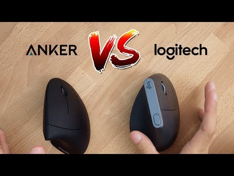 Which Ergonomic Mouse Is Best? Logitech MX Vertical Vs Anker Vertical