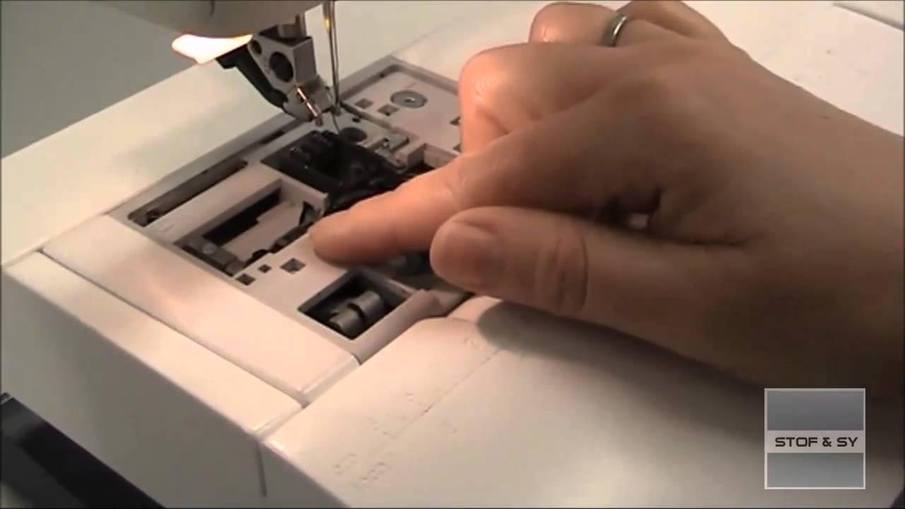 Rens din symaskine