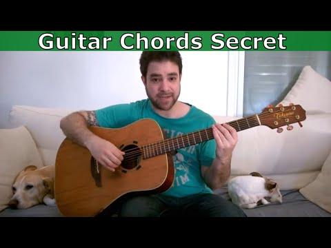 The Strange Secret of the Guitar Chord Shapes