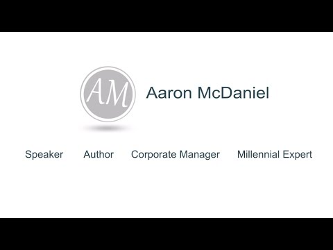 Aaron McDaniel Speaking Video Reel Official - YouTube