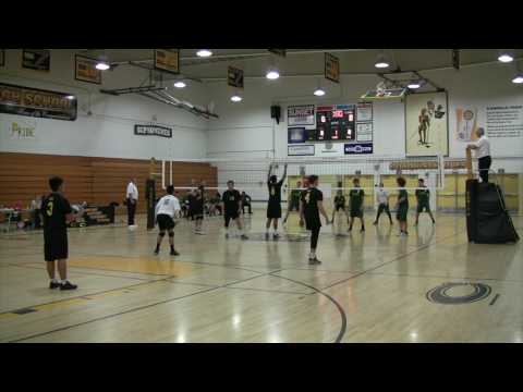 Cabrillo HS vs St. Joseph HS Boys Volleyball 2017