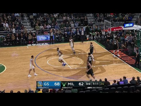 Bucks - Warriors top Bucks 105-95