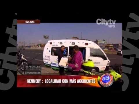 Especial accidentes de motos en Bogotá | City Tv | Arriba Bogotá  | Febrero 11