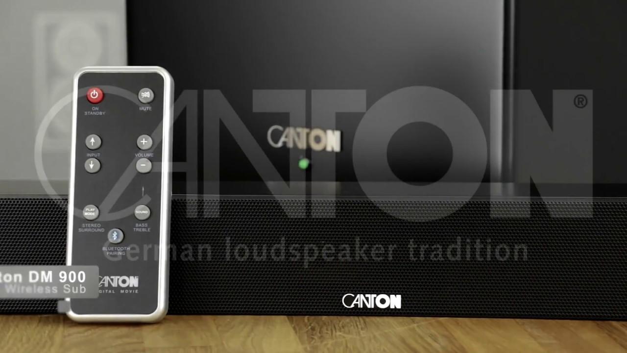 Canton DM900 Soundbar - YouTube