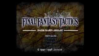 Final Fantasy Tactics Any% Speedrun in 3:58:26