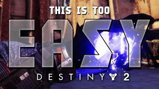 Destiny 2 Easiest, Cheesiest, Ridiculous OPness, No Skill PVP Crucible Build