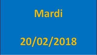 RESULTATS EURO MILLIONS DU 20/02/2018 !