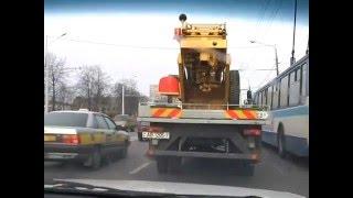 Проезд по многополосной дороге. Уроки инструктора avto-school.by