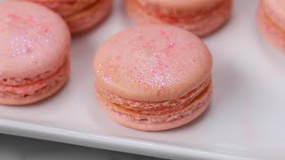 Rosé Macarons For Your Next Girl's Night • Tasty